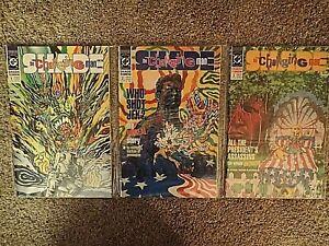 1990 DC Comics Shade The Changing Man 1-3