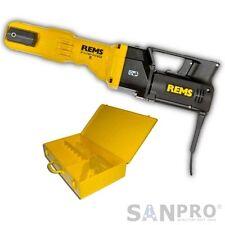REMS Power Press E Pressmaschine Presszange + KOFFER ( Modell vor der neuen SE )
