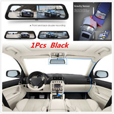 """10"""" Full-view Touch Screen DVR Streaming Rearview Mirror Car Driving Recorder"""