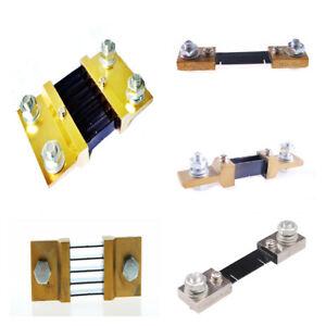 FL-2 10/20/30/50/100A  DC75mV Current Shunt Resistor For Amp Ammeter Panel Meter