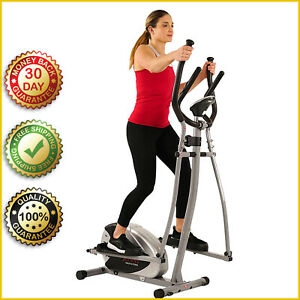 ELLIPTICAL MACHINE CROSS TRAINER SF-E905 Cardio Exercise 8 Level Fitness Workout