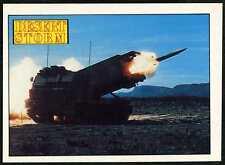 US Army MLRS #83 Desert Storm 1991 Merlin Sticker (C959)