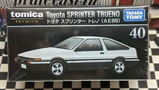 TOMICA PREMIUM #40 TOYOTA SPRINTER TRUENO (AE86) 1/60 SCALE