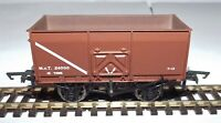 BACHMANN 37-426C 16T  SLOPE SIDE MINERAL WAGON M.O.T. BROWN