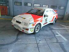 FORD Sierra RS Cosworth Rallye Portugal TAP #15 Sainz 1987 Gr.A IXO Altaya 1:18