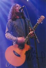Miles Hunt Hand Signed 12x8 Photo The Wonder Stuff 1.