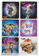 "25 Lego Movie 2 Stickers (Licensed), 2.5""x2.5"" each, Party Favors"