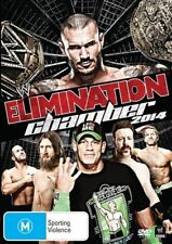 WWE - Elimination Chamber 2014 (DVD, 2014 ) New  Region 4