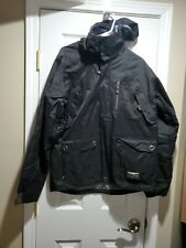 Simms Mens Black Ski Jacket Size Medium