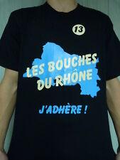 Superbe t-shirt BOUCHES-DU-RHÔNE PHOCEEN MARSEILLE AIX-EN-PROVENCE MARTIGUES