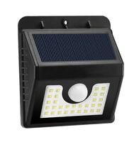30 LED Solar Power Motion Sensor Wall Light Outdoor Yard Garden Lamp Waterproof