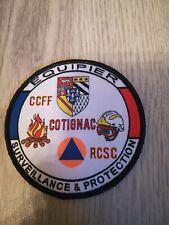 écusson pompier securite civile sdis grimp63