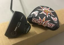 """Odyssey PT Tour Issued ProtoType Black 2-Ball Putter 34.5"""" Steel Golf Club"""