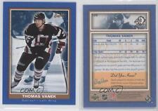 2005 05-06 UD BEEHIVE THOMAS VANEK ROOKIE BEE HIVE #120