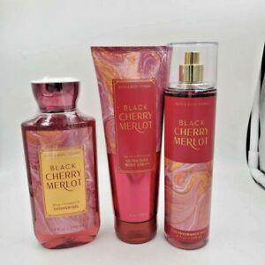 Bath & Body Works Black Cherry Merlot Collection