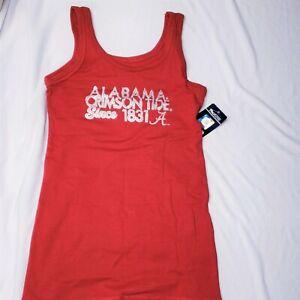 Girls Alabama Crimson Tide Tank Top S M L 6 7 8 10 12