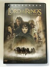 The Lord of the Rings: The Fellowship of the Ring (Dvd, 2002, 2-Disc Set, Full F