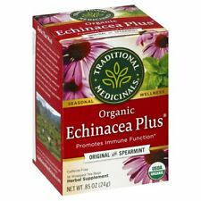 Traditional Medicinals organic Echinacea With Spearmint Herbal Tea 16 Bags