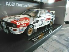 AUDI Quattro Rallye RAC GB Lombard #3 Blomqvist Winner BBS Sunstar RAR 1:18