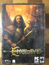 Enclave Black Label Games Windows 98/Me/2000/XP PC Video Big Box PC Game 2003