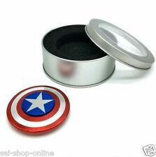 Captain America Shield Fidget Hand Spinner Fun_Anti-Stress_Focus_ADHD,_Anxiety