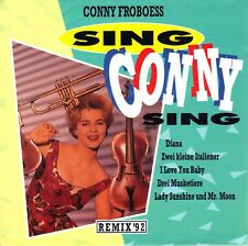 """7"""" Conny Froboess - Sing Conny Sing / My Dear Conny // Germany 1992"""