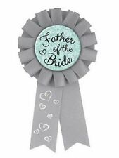 Father of the Bride Award Ribbon Badge Shower Favor