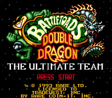 Battletoads And Double Dragon - Sega Genesis Game