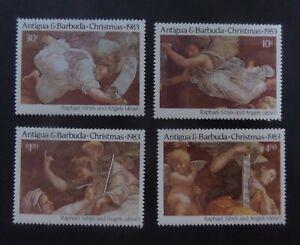 Antigua 1983 Christmas 500th Birth Ann Raphael SG816/9 MNH UM Unmounted mint