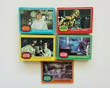 1977 Star Wars Series 1-5 Card Lot (142 Cards Total)