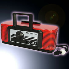 Holga Micro 110 Micro-110 Film Toy Mini Camera Baby Spy Tiny Lomo Strap Keychain