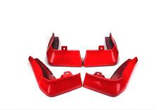 4PCS Red Splash Guards Mud Flaps Fenders Fit For Honda CIVIC 2016-2020