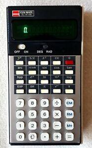 Calculator Sharp ELSIMATE  EL-8115S (1977)vacuum fluorescent display