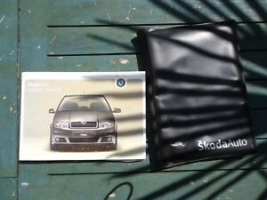 2005 SKODA FABIA 1.2 5DR OWNERS MANUAL AND PACK