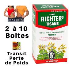 Tisane Ernst Richter's Régime Transit Perte Poids The Detox Minceur Richters Tea