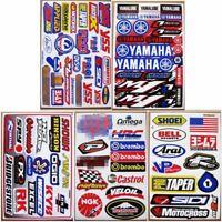 5 planches Autocollant Moto-GP Dirt Bike Motocross Decal Racing ATV MX1 stickers
