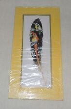 """Feather Art: Tucan's, Signed by """"Leon Nicaraguan"""" Artist"""