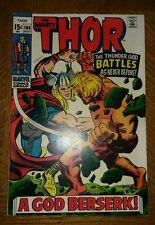 Thor #166 (Jul 1969, Marvel) VF 8.0/+ VERY SHARP!! C PHOTOS + DESCRIPTION VF+