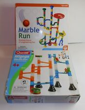 Marble Run by MindWare and Magoga Marble Run by Quercetti