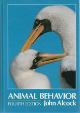 ANIMAL BEHAVIOUR John Alcock 596 Pages **GOOD COPY**