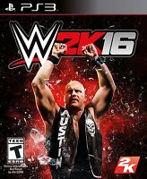 WWE 2K16 - PlayStation 3 New In stock