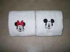 Mickey and Minnie  Mouse 2 Hand Towels- Personalized
