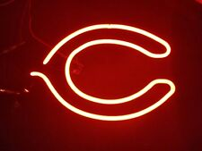 (Vtg) Miller beer Chicago Bears football logo Neon glass tube Sign Repair Part