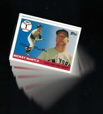 2006 Topps  Mickey Mantle Home Run History #MHR1 - #249...Choose your Card(s)!!!