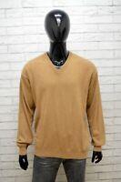 Maglione Uomo John Crosby Taglia 56 Pullover Felpa Sweater Cardigan Lana Merino