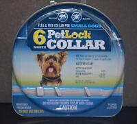 PETLOCK COLLAR FLEA & TICK COLLAR FOR SMALL DOG (6 MONTH PROTECTION)