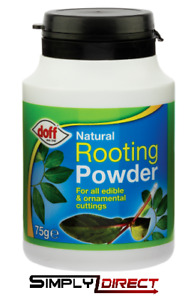 Doff Natural Hormone Rooting Powder 75g for Strong Healthy Plants PK of 1-2-3-4-