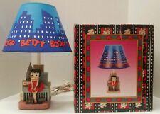 BETTY BOOP Figurine Doll Big New York City Skyline Lamp Base
