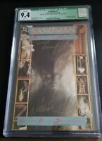 Sandman #1 (Jan 1989, DC)  CGC 9.4 Qualified Grade signed by Neil Gaiman in 1990