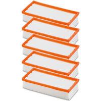 5x STAUBSAUGER Flachfalten Filter für Kärcher wie 6.904-367.0, NT 25/1, NT 35/1